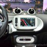 2015 Smart ForFour centre console at 2014 Paris Motor Show