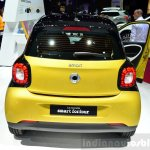 2015 Smart ForFour dual-tone rear  at 2014 Paris Motor Show