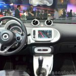 2015 Smart ForFour interior at 2014 Paris Motor Show