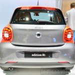 2015 Smart ForFour rear at 2014 Paris Motor Show