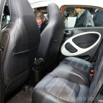 2015 Smart ForFour rear seat at 2014 Paris Motor Show