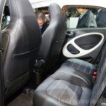 2015 Smart ForFour rear seat at 2014 Paris Motor Show