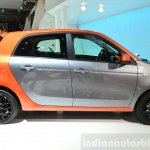 2015 Smart ForFour side at 2014 Paris Motor Show