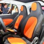 2015 Smart ForTwo seats at 2014 Paris Motor Show