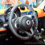 2015 Smart ForTwo steering wheel at 2014 Paris Motor Show