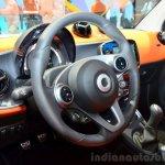2015 Smart ForTwo steering wheel at 2014 Paris Motor Show