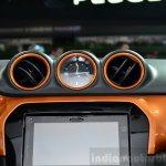 2015 Suzuki Vitara centre console at the 2014 Paris Motor Show
