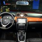 2015 Suzuki Vitara dashboard at the 2014 Paris Motor Show