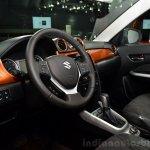 2015 Suzuki Vitara interior at the 2014 Paris Motor Show