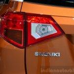 2015 Suzuki Vitara orange tailight at the 2014 Paris Motor Show