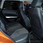 2015 Suzuki Vitara rear seat at the 2014 Paris Motor Show