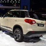 2015 Suzuki Vitara rear three quarter at the 2014 Paris Motor Show