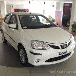 2015 Toyota Etios Liva facelift front quarters