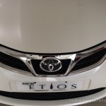2015 Toyota Etios facelift chrome grille