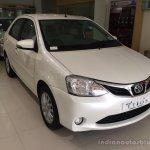 2015 Toyota Etios facelift front quarter