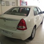 2015 Toyota Etios facelift rear quarter