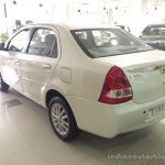 2015 Toyota Etios facelift rear quarters