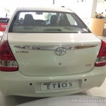 2015 Toyota Etios facelift rear