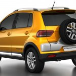 2015 VW CrossFox rear quarter angle