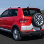 2015 VW CrossFox rear quarters