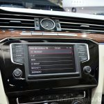 2015 VW Passat audio system at the 2014 Paris Motor Show