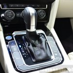 2015 VW Passat gear selector at the 2014 Paris Motor Show