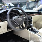 2015 VW Passat interior at the 2014 Paris Motor Show