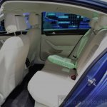 2015 VW Passat rear seat at the 2014 Paris Motor Show