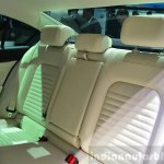 2015 VW Passat rear seat back rest at the 2014 Paris Motor Show
