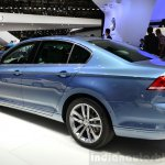 2015 VW Passat rear three quarters view at the 2014 Paris Motor Show