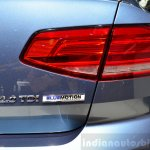 2015 VW Passat taillamp at the 2014 Paris Motor Show