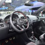2015 VW Polo GTI dashboard at the 2014 Paris Motor Show