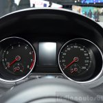 2015 VW Polo GTI instrument console at the 2014 Paris Motor Show