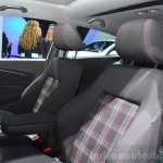 2015 VW Polo GTI sport seats at the 2014 Paris Motor Show