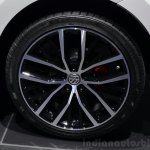 2015 VW Polo GTI wheel at the 2014 Paris Motor Show