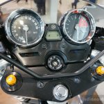2015 Yamaha XJR1300 Racer instrument cluster at INTERMOT 2014