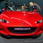 2016 Mazda MX-5 Miata front fascia at the 2014 Paris Motor Show
