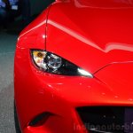2016 Mazda MX-5 Miata headlight at the 2014 Paris Motor Show