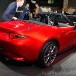 2016 Mazda MX-5 Miata rear three quarters right at the 2014 Paris Motor Show