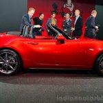 2016 Mazda MX-5 Miata side view at the 2014 Paris Motor Show