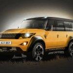 2017 Land Rover Defender rendering side