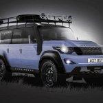 2017 Land Rover Defender rendering