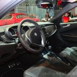 Alfa Romeo Giulietta Quadrifoglio Verde interior at the 2014 Paris Motor Show