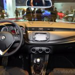 Alfa Romeo Giulietta Sprint dashboard at the 2014 Paris Motor Show