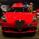 Alfa Romeo Giulietta Sprint front at the 2014 Paris Motor Show