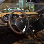 Alfa Romeo Giulietta Sprint interior at the 2014 Paris Motor Show