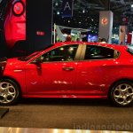 Alfa Romeo Giulietta Sprint side at the 2014 Paris Motor Show