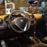Alfa Romeo MiTo Quadrifoglio Verde interior at the 2014 Paris Motor Show