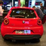 Alfa Romeo MiTo Quadrifoglio Verde rear at the 2014 Paris Motor Show