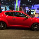 Alfa Romeo MiTo Quadrifoglio Verde side at the 2014 Paris Motor Show